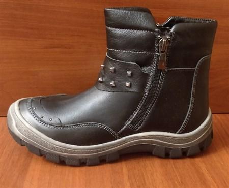 Ботинки зимние Тотто 311-М1, цвет черный, размеры 31-36 - фото 5157