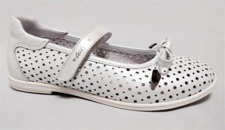 Туфли летние Тотто 30013-9, цвет белый, размеры 31-36 - фото 5519