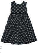 Платье в горох Carters, цвет черный.