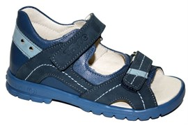 Босоножки Тотто, модель 10215-3,13,09, цвет джинс, размеры 27-31
