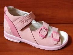 Босоножки Тотто, модель 1024-17,87, цвет розовый, размеры 27-31
