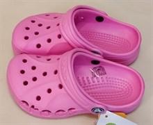 Сабо Crocs Kids' Baya, цвет розовый