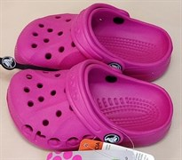 Сабо Crocs Kids' Baya, цвет фуксия
