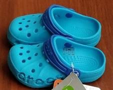 Сабо Crocs Kids' Baya, цвет нежно-голубой/голубой.