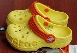 Сабо Crocs Kids' Baya, цвет желтый/оранжевый