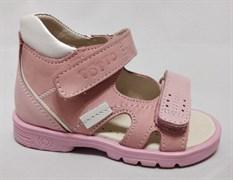 Босоножки Тотто 0213-7,17,9, цвет розовый, размеры 21-26