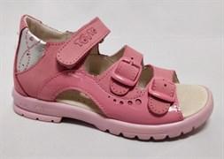 Босоножки Тотто, модель 1027-37,87,022, цвет розовый, размеры 27-31