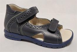 Босоножки Тотто, модель 10216-2,010, цвет синий, размеры 27-34