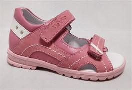 Босоножки Тотто, модель 10215-117,87,9, цвет розовый, размеры 27-31