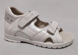 Босоножки Тотто, модель 10215-9,19,022, цвет белый, размеры 27-31