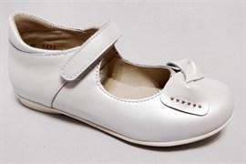 Туфли Тотто 10204/2-9, цвет белый, размеры 26-33