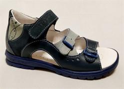 Босоножки Тотто, модель 1027-3,13,09, цвет синий/голубой, размеры 27-34