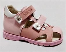 Босоножки Тотто 064-7,17,9, цвет розовый, размеры 21-26
