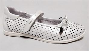 Туфли летние Тотто 30013-9, цвет белый, размеры 31-36