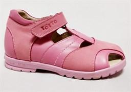 Босоножки Тотто 1075, розовый, размеры 27-31