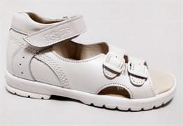 Босоножки Тотто, модель 10212-9, цвет белый, размеры 27-34