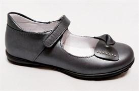 Туфли Тотто 10204/2-161, цвет серый, размеры 30-33