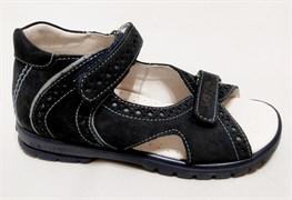 Босоножки Тотто, модель 10216-12,09, цвет синий/голубой, размеры 27-34