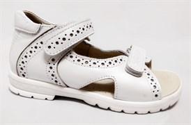 Босоножки Тотто, модель 10216-9,022, цвет белый, размеры 27-34
