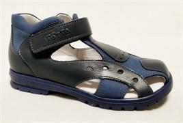 Босоножки Тотто 070-3-43, цвет синий, размеры 27-31