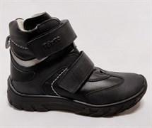 Ботинки на байке Тотто 3542-51.1.01 (черный-серый), размеры 31-36